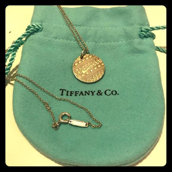 cf6267ad5 Tiffany & Co. Jewelry   Tiffany Nike Pendant Necklace   Poshmark